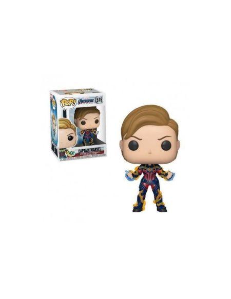 Figurine Funko Pop! N°576 - Avengers - Captain Marvel Cheveux Courts