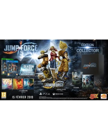 Jump Force Collector Edition Jeu PS4