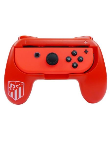 Duo de Grips rouge Atletico Madrid pour manette Switch