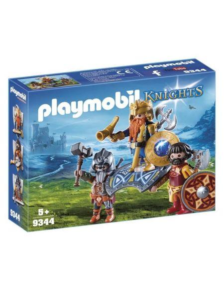 PLAYMOBIL 9344 - Knights - Roi des nains - Nouveauté 2019