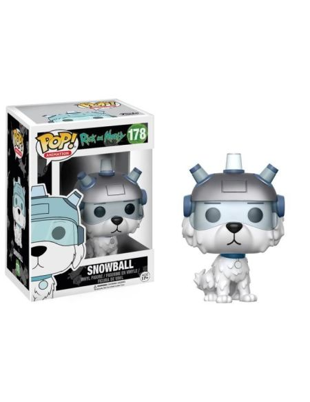 Figurine Funko Pop! Rick et Morty : Snowball