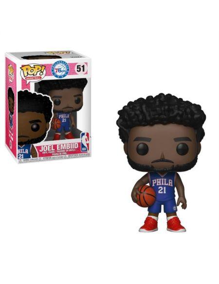 Figurine Funko Pop! NBA: JŒl Embiid