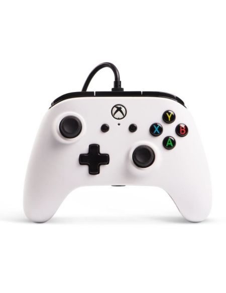 POWER A Manette Xbox One Core Wired controller - Blanc