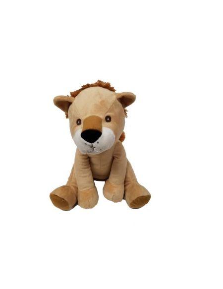 Peluche Lion - assis - 21 cm