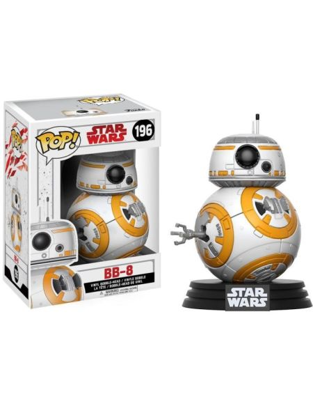 Figurine Funko Pop! Star Wars Ep.8 The Last Jedi : BB-8