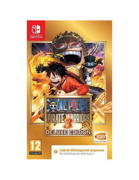 One Piece Pirate Warriors 3 Jeu Nintendo Switch - Code in a box