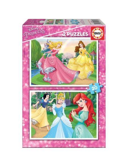 EDUCA - puzzle 2x20 Disney princesses