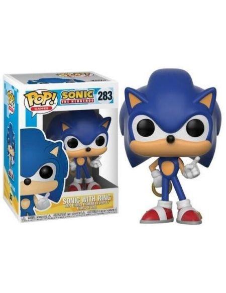 Figurine Funko Pop! Sonic: Sonic avec anneau