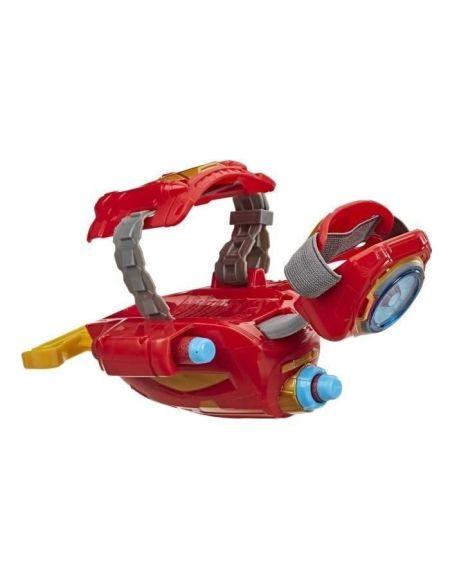 Marvel Avengers – Gant répulseur Iron Man lance-fléchettes Nerf Power Moves - Accessoire de déguisement