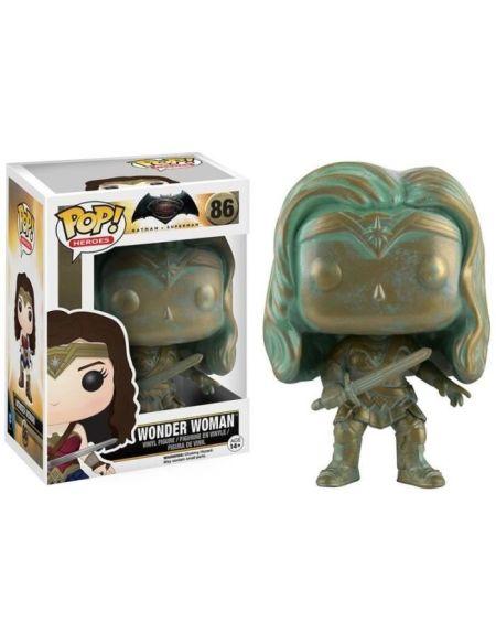 Figurine Funko Pop! Ndeg86 - Dc Batman Vs Superman - Wonder Woman Bronze
