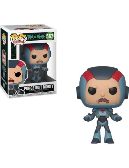 Figurine Funko Pop! Rick & Morty S6 - Morty in Mech Suit