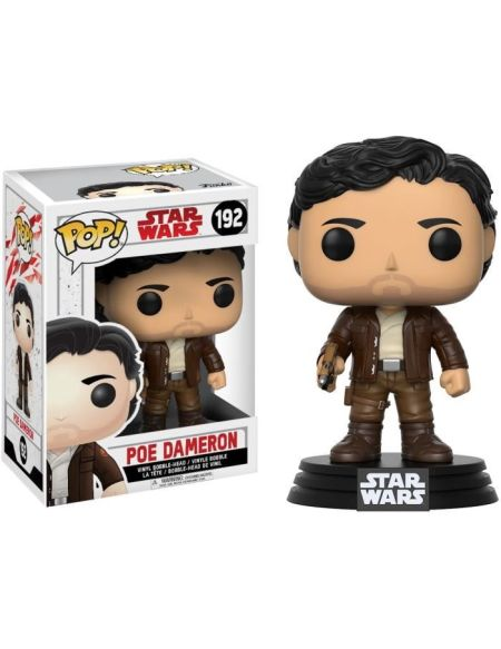 Figurine Funko Pop! Star Wars Ep.8 The Last Jedi : PΠDameron