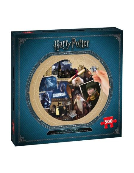 Puzzle - Harry Potter Et La Pierre Philosophale - 500 Pieces