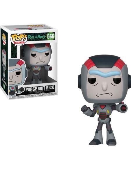 Figurine Funko Pop! N°566 - Rick et Morty - S6 Rick dans costume Méca