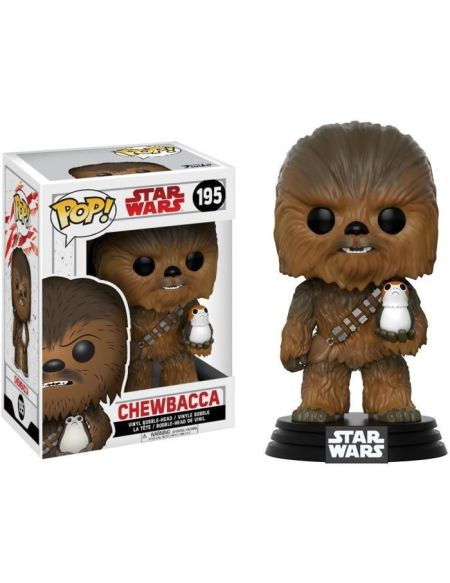 Figurine Toy Pop N°195 - Star Wars - Episode VIII - Chewbacca