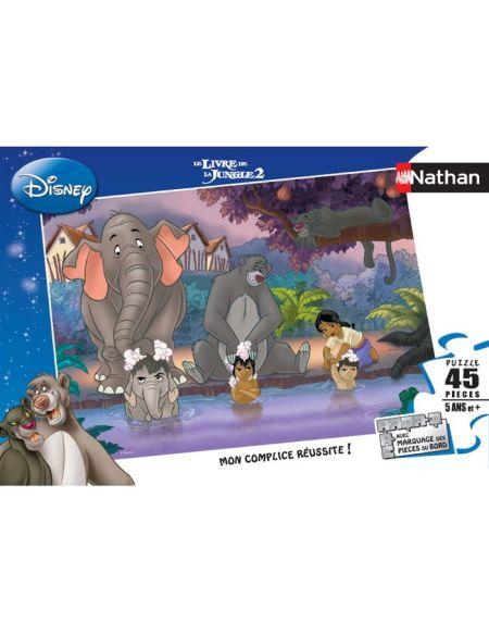 LE LIVRE DE LA JUNGE Puzzle 45 pcs - Disney