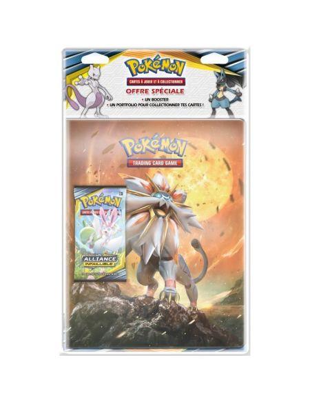 Pokemon- SL10 Soleil et Lune Alliance Infaillible - Range-cartes + booster