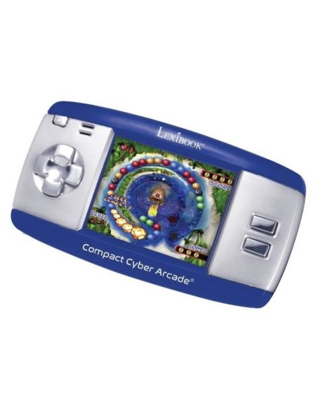 LEXIBOOK - Compact Cyber Arcade® - 250 Arcade Console de jeux compacts Cyber - Mixte - A partir de 6 ans