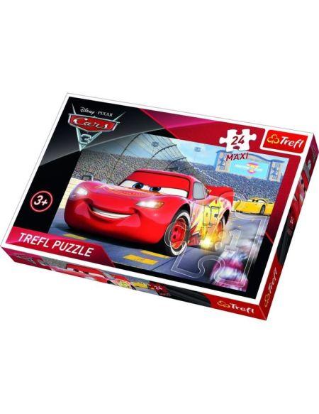TREFL Puzzle Maxi Disney Cars 3 - 24 Pièces