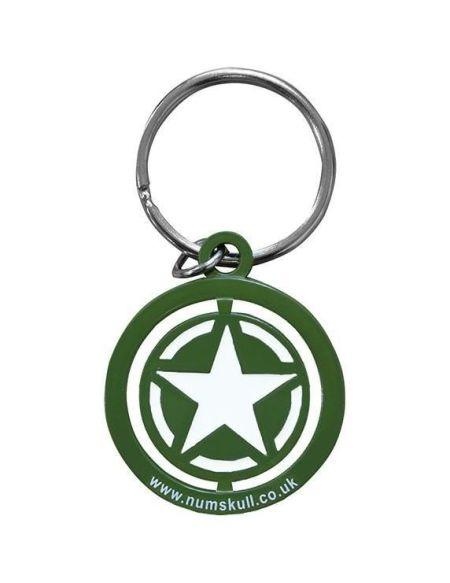 Porte-clé Call of Duty : Freedom Star Spinner - Vert