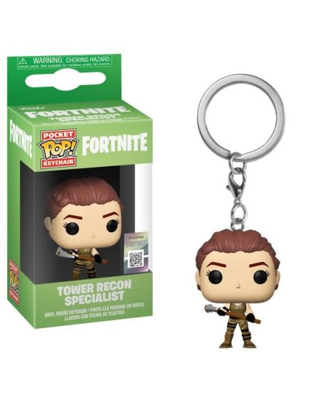 Porte-clé Funko Pocket Pop! Fortnite -Tower Recon Specialist