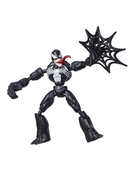 Marvel Spider-Man – Figurine Venom Bend & Flex – 15 cm