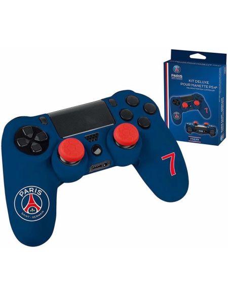 Kit pour manette PS4 Subsonic bleu PSG n°7