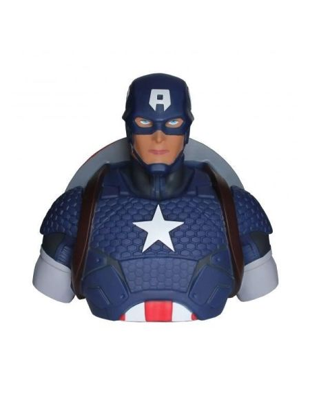 Tirelire Marvel - Captain America 22 cm - ABYstyle