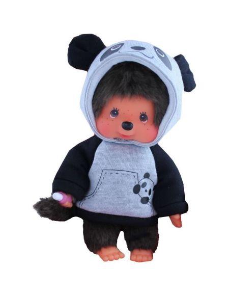 MONCCHICHI - peluche - Panda 20 cm