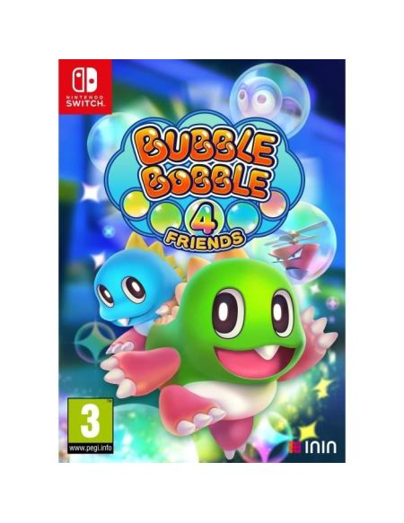 Bubble Bobble 4 Friends Jeu Switch