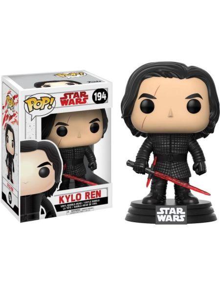 Figurine Funko Pop! N°194 - Star Wars - Episode VIII - Kylo Ren