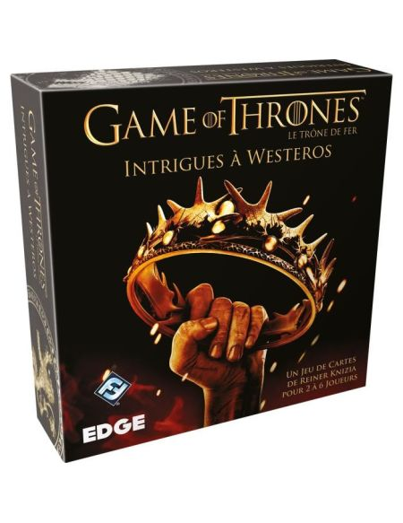 ASMODEE - GAME OF THRONES Le Trône de Fer HBO: Intrigues à Westeros - Jeu de société