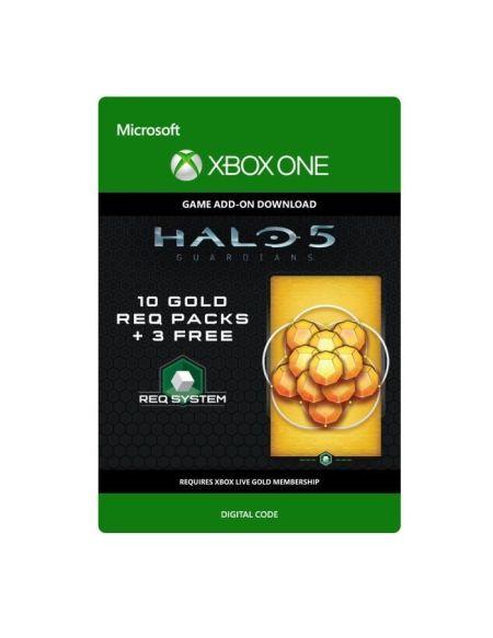 DLC Halo 5 - Guardians: 10 Gold REQ Packs + 3 Gratuits pour Xbox One