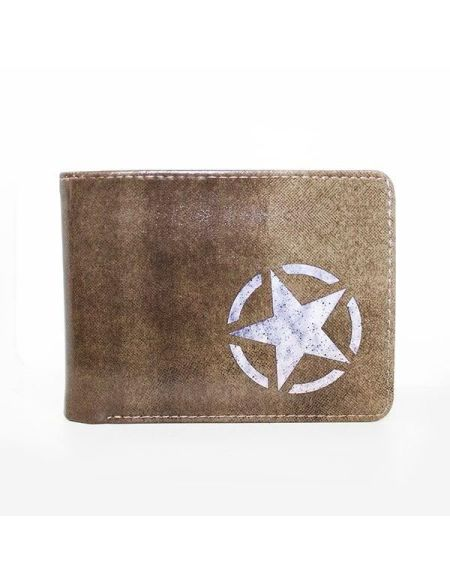 Portefeuille Call of Duty : Freedom Star - Marron