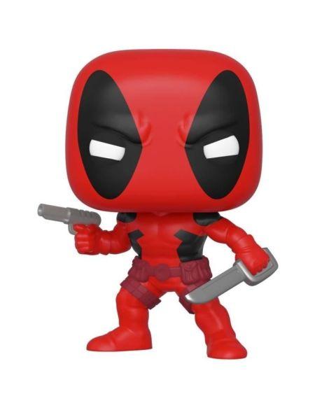 Figurine Funko Pop! Marvel : 80th - First Appearance : Deadpool