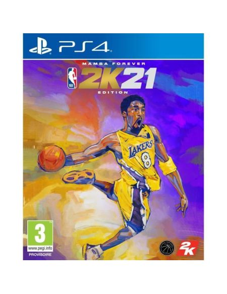 NBA 2K21 Edition Mamba Forever Jeu PS4 - Version PS5 Standard incluse