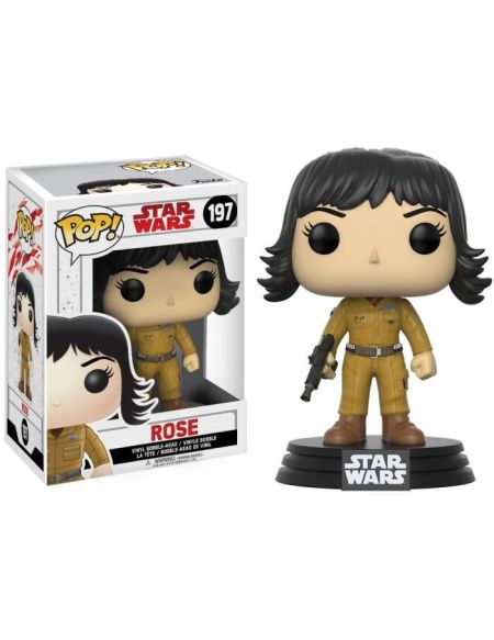 Figurine Funko Pop! Star Wars Ep.8 The Last Jedi : Rose