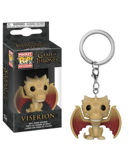 Porte-clés Funko Pocket Pop! Game Of Thrones S10 - Regular Viserion