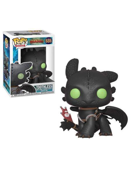 Figurine Funko Pop! Dragons 3: Toothless