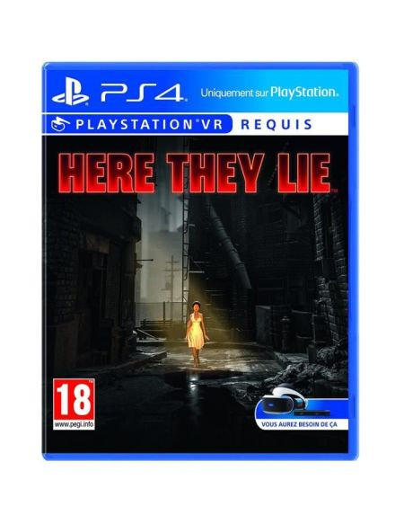 Here They Lie Jeu PSVR