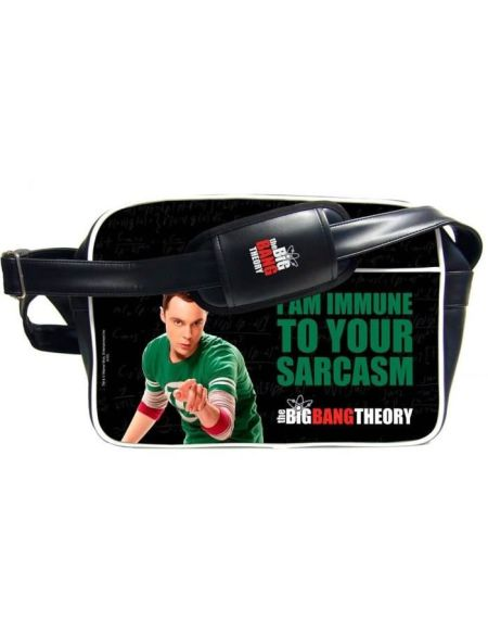 THE BIG BANG THEORY Sac bésace Sheldon en PVC