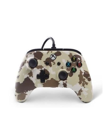 POWER A Manette Xbox One Wired controller - Camo snow