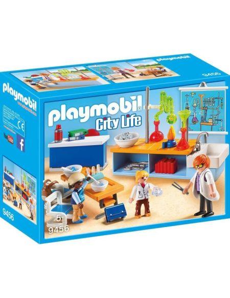 PLAYMOBIL 9456 - City Life - Classe de Physique Chimie - Nouveauté 2019