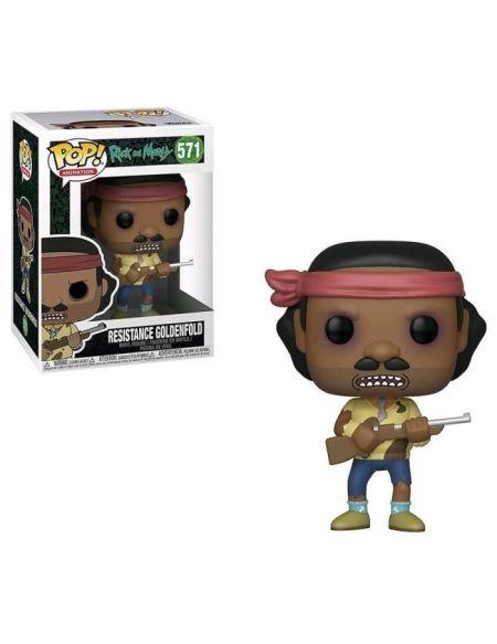 Figurine Funko Pop! Rick & Morty S6 - Resistance Goldenfold