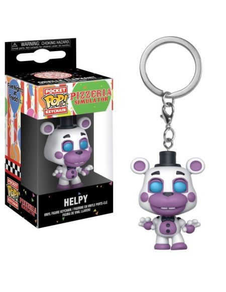 Porte-clé Funko Pocket Pop! Five Nights At Freddy's: Pizza Simulator: Helpy