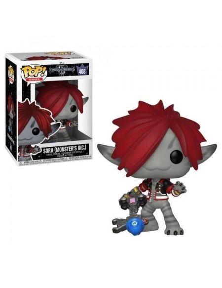 Figurine Funko Pop! N°408 - Kingdom Hearts 3 - Sora (monstres Et Cie)