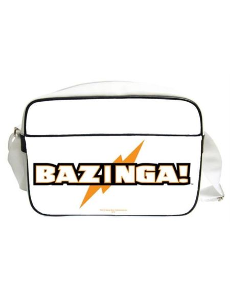 THE BIG BANG THEORY Sac bésace Bazinga en PVC