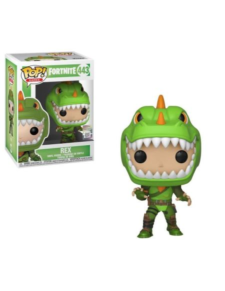 Figurine Funko POP ! Fortnite - Rex