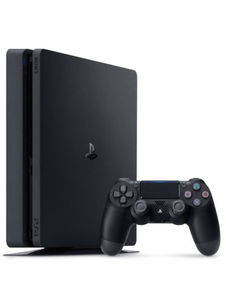 Console PS4 Slim 500Go Noire/Jet Black - Châssis F - PlayStation Officiel