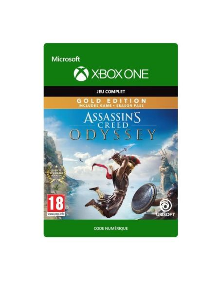 Assassin's Creed Odyssey : Gold Edition Jeu Xbox One à télécharger